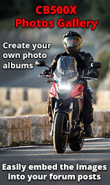 Honda CB500X Photos